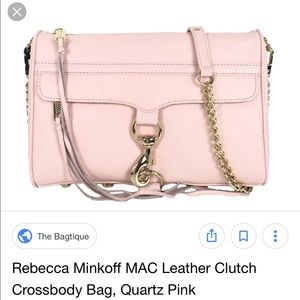Rebecca Minkoff blush Crossbody NWT